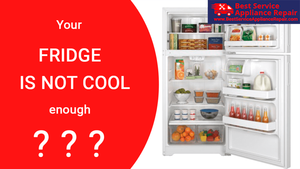 Is your fridge is not cool enough?