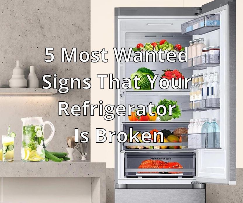 Refrigerator Is Broken