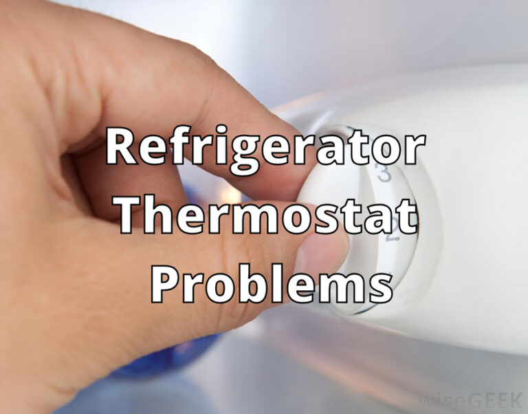 Refrigerator Thermostat Problems